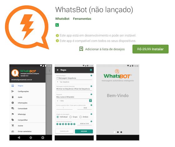 Chat bot para WhatsApp