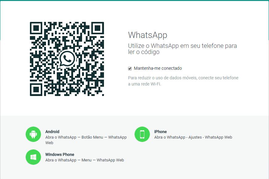 como usar o whatsapp web no computador